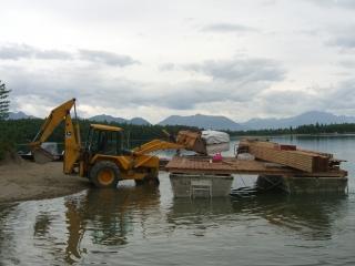 Loading Barge