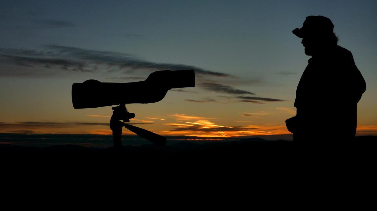 Sunrise over Alaska