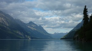 Boating into Little Lake Clark